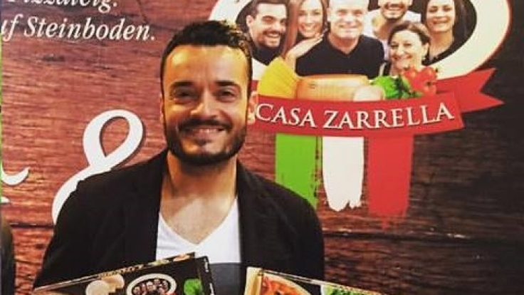 Giovanni Zarrella macht jetzt Pizza.