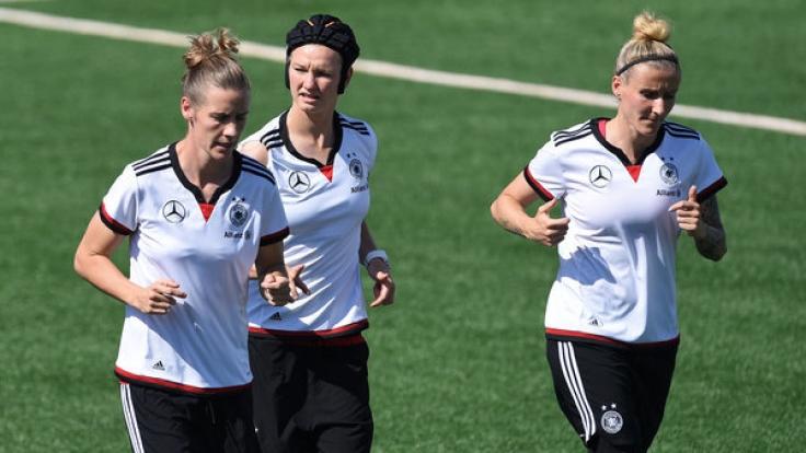 Das deutsche Frauenteam trifft in der WM-Quali auf Slowenien.