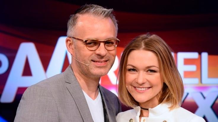 Sängerin Linda Hesse mit Ihrem Freund André Franke.