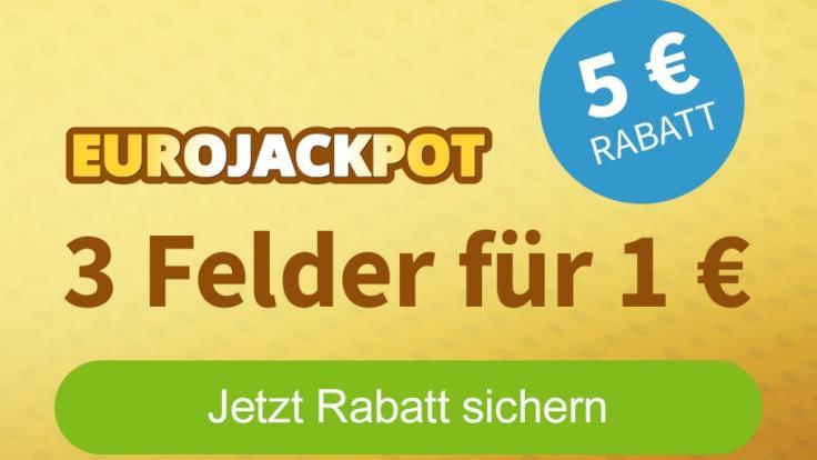 Hier können sich Erstspieler einen Rabatt im Eurojackpot-Spiel sichern (Foto)