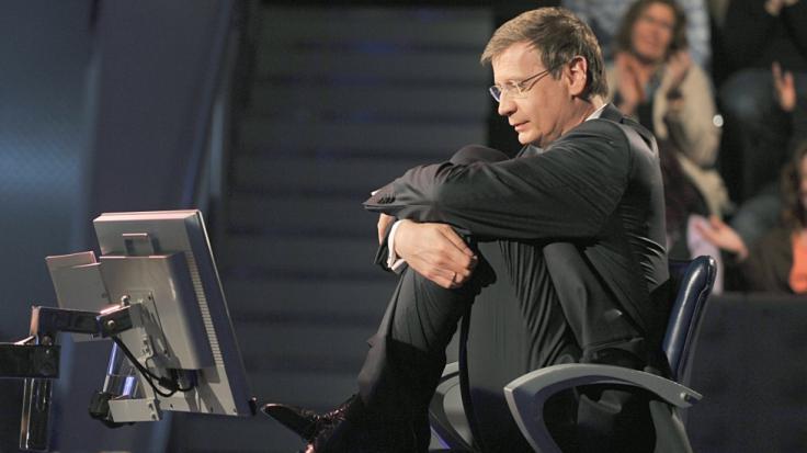 Günther Jauch sitzt bei