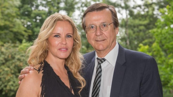 Seit über 18 Jahren glücklich: Katja Burkard und Mann Hans Mahr.