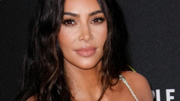 Kim Kardashian zeigt sich wieder von ihrer besten Seite.