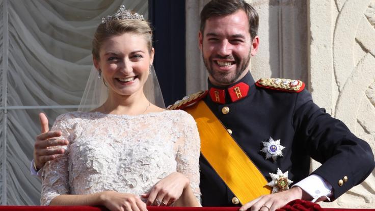 Stéphanie und Guillaume von Luxemburg sind Eltern geworden. (Foto)
