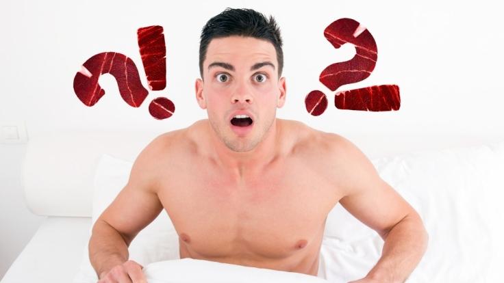 Männer machen verrückte Dinge mit ihrem Penis. (Foto)