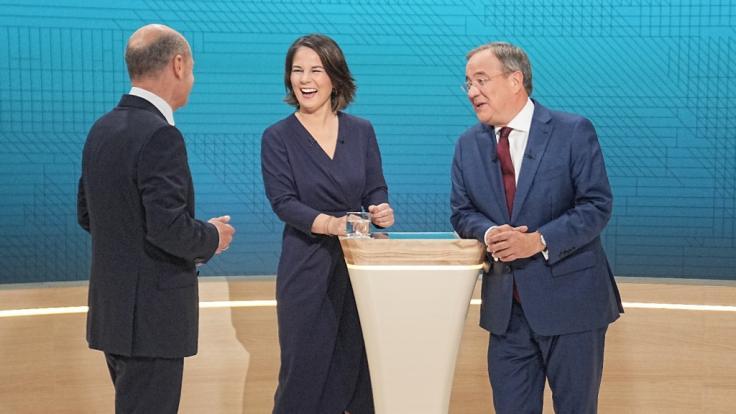 Olaf Scholz, Annalena Baerbock oder Armin Laschet (v.l): Wer wäre der beste Kanzler bzw. die beste Kanzlerin? DAS sagen die Sterne! (Foto)
