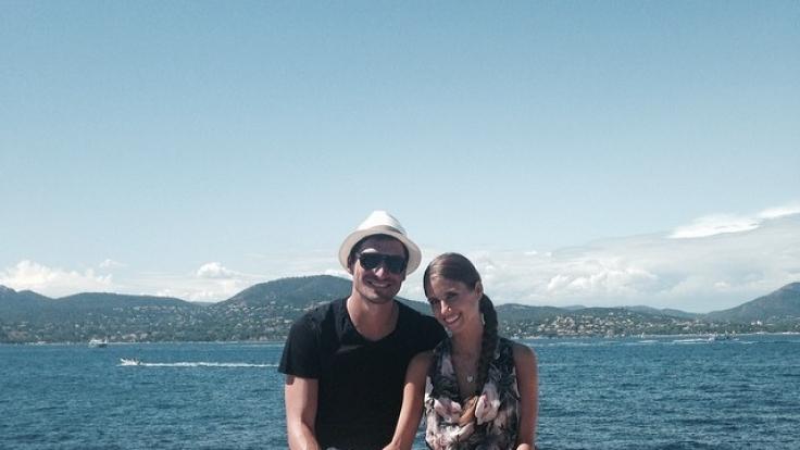 Doch gemeinsam im Urlaub: Mats Hummels und Cathy Fischer.