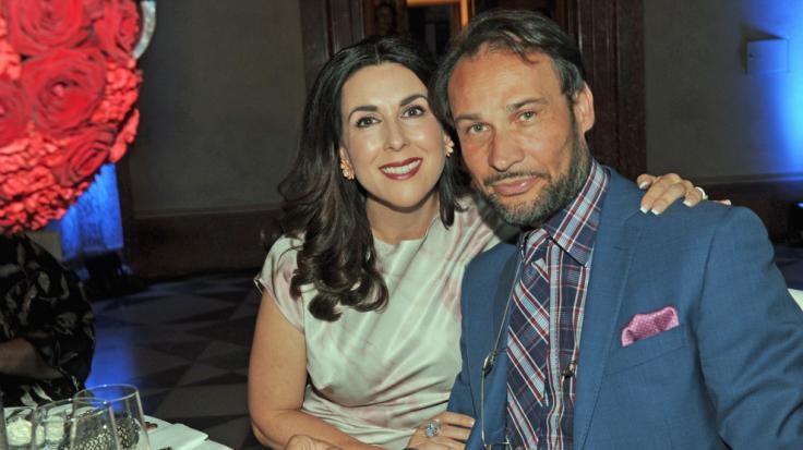 Judith Williams mit ihrem Mann Alexander-Klaus Stecher beim Festakt der