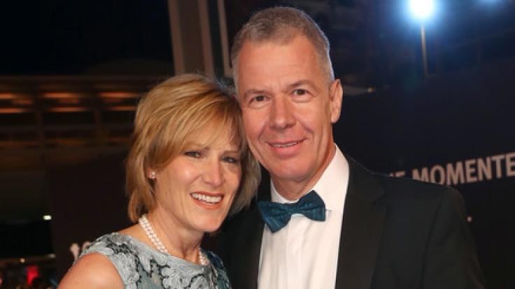 Peter Kloeppel und seine Frau Carol. (Foto)