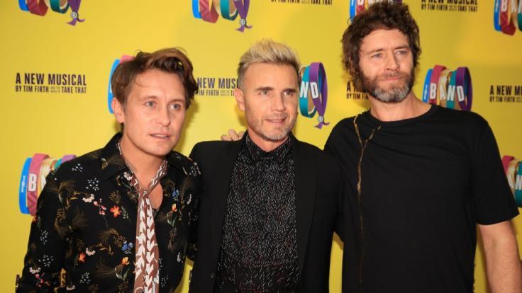 Take That gehen wieder auf Tour: Mark Owen, Gary Barlow und Howard Donald werden 2019 für vier Shows nach Deutschland kommen. (Foto)