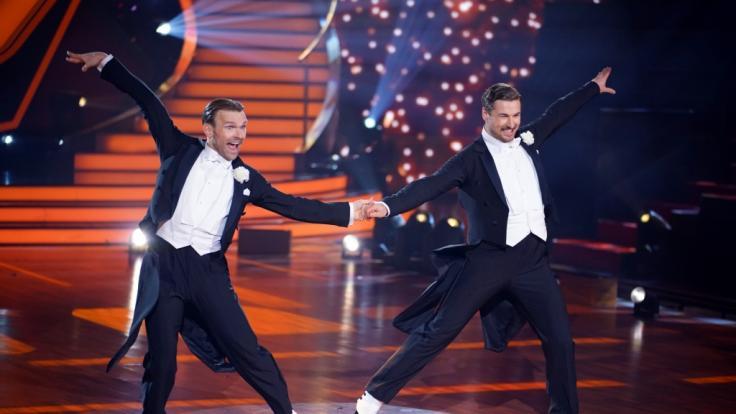 """Nicolas Puschmann und Vadim Garbuzov mussten nach Show 8 Abschied von """"Let's Dance"""" nehmen. (Foto)"""