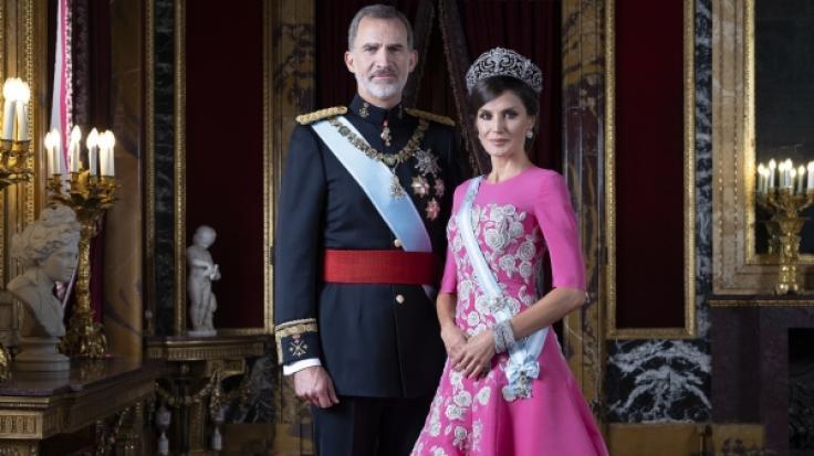 König Felipe VI. von Spanien und Königin Letizia sind seit 2004 verheiratet.