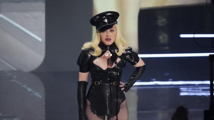 Madonna sorgte bei Jimmy Fallon für Fremdschäm-Alarm. (Foto)