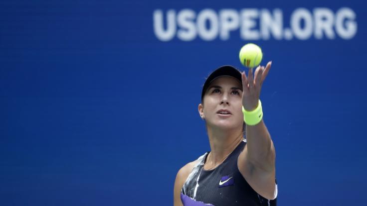 Belinda Bencic steht im Halbfinale der US Open.