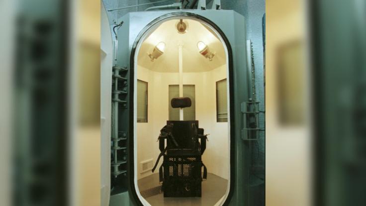 In einer solchen Gaskammer sollen die Todeskandidaten hingerichtet werden. (Foto)