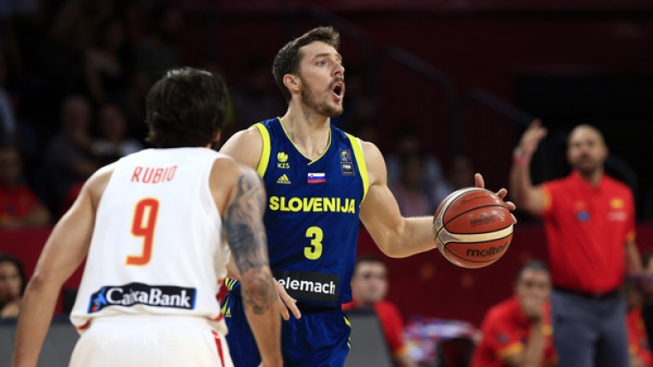 Basketballer Goran Dragic steht mit Slowenien im Finale der Eurobasket 2017 und muss gegen Serbien ran. (Foto)