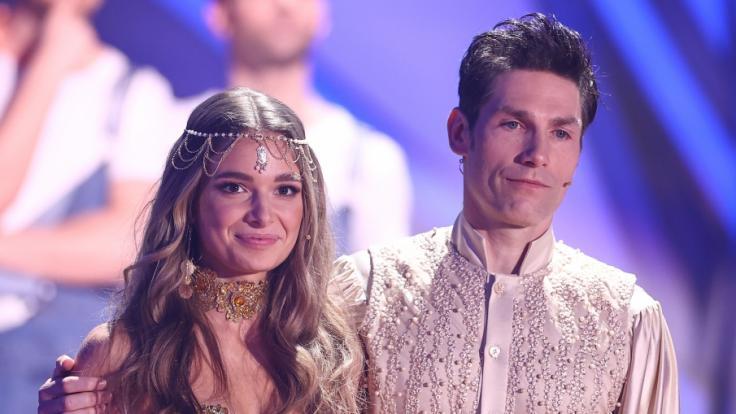 Christian Polanc tanzte in diesem Jahr mit Lola Weippert. (Foto)