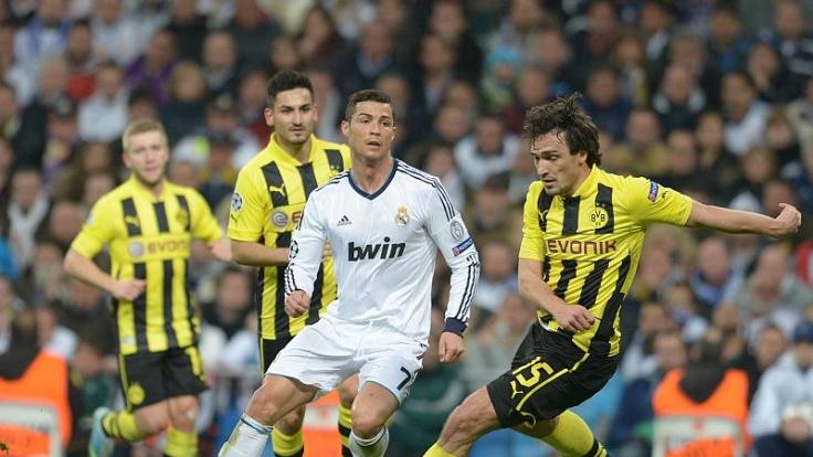 Knaller im Viertelfinale: Cristiano Ronaldo gegen den BVB. (Foto)