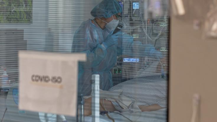 Der Wert der in Deutschland neu gemeldeten Coronavirus-Infektionen liegt am 18. Januar 2021 mit rund 7.000 Fällen so niedrig wie seit Monaten nicht mehr. (Foto)