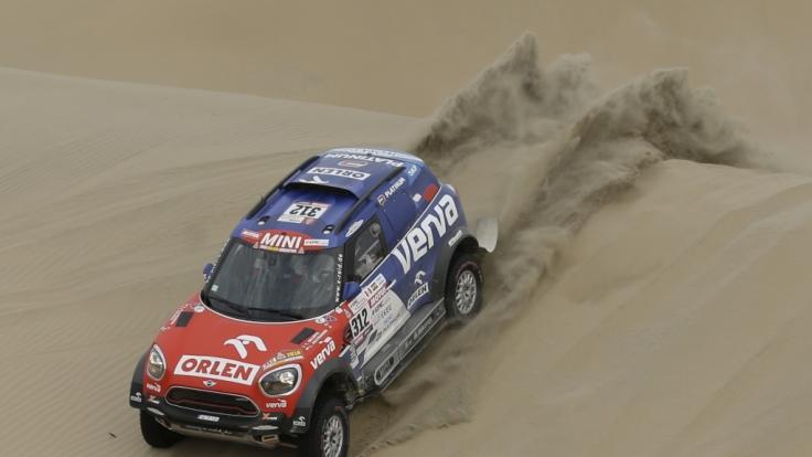 Die Rallye Dakar geht in die nächste Runde. (Foto)