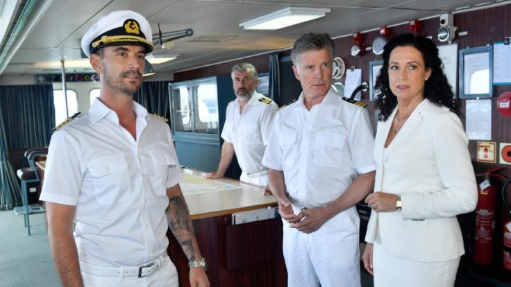 """Corona hindert die """"Traumschiff""""-Crew von Florian Silbereisen am Auslaufen. (Foto)"""