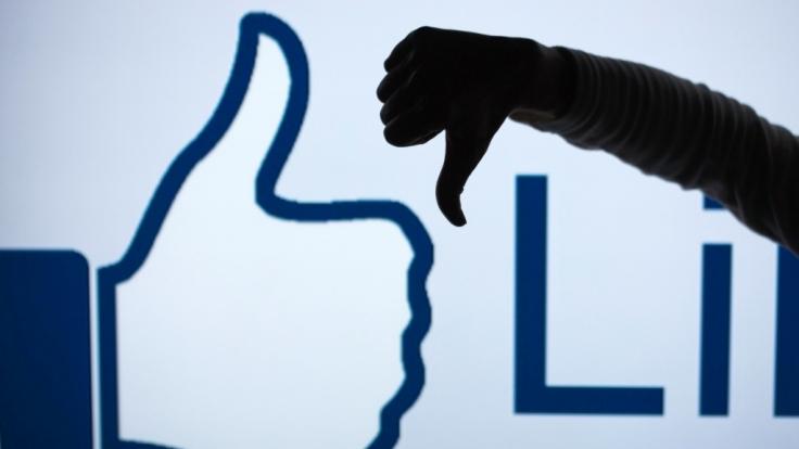 Facebook: Der Ort, an dem jeder öffentlich seinen Frust ablassen darf. (Foto)