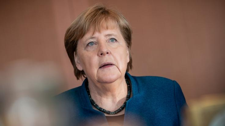 """Angela Merkel fordert Konsequenzen nach dem """"unverzeihlichen"""" Wahlergebnis in Thüringen. (Foto)"""