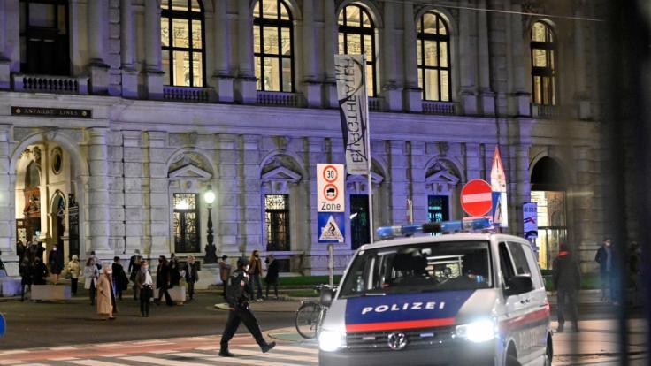 Bei einem Terrorangriff in der Wiener Innenstadt sind am Abend mehrere Menschen getötet und verletzt worden. (Foto)