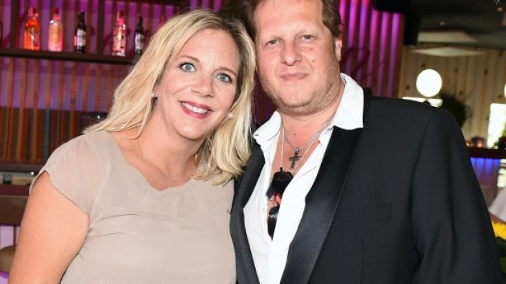 Daniela und Jens Büchner sind seit 2017 verheiratet. (Foto)