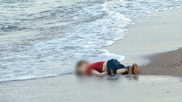 Sinnbild der Flüchtlingskrise 2015: Der kleine Aylan.