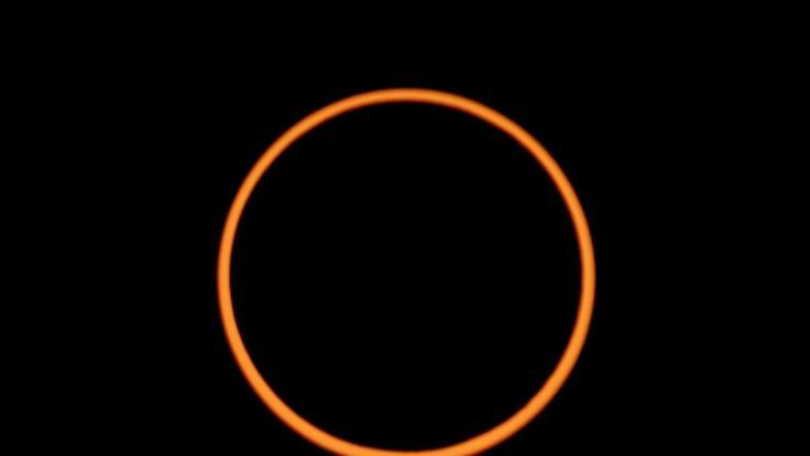 Im Dezember 2019 findet eine ringförmige Sonnenfinsternis statt. (Foto)