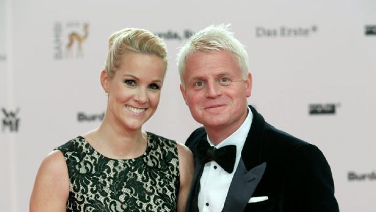 Guido Cantz mit Ehefrau Kerstin.