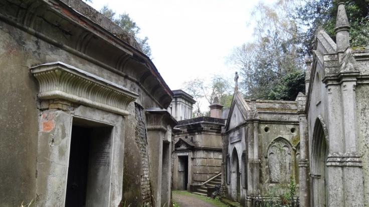 Der Highgate Cemetery sorgte in den 1970er Jahren für Schlagzeilen. (Foto)