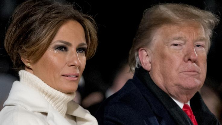 Donald Trumps Geburtstagsüberraschung für Melania Trump ist wahrlich zum Heulen. (Foto)