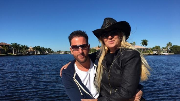 Michael Wendler und seine Claudia in ihrer neuen Heimat, Cape Coral, im US-Bundesstaat Florida. (Foto)
