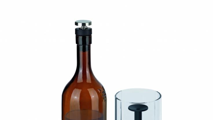 Der Winemaster besteht aus unterschiedlichen Komponenten. (Foto)
