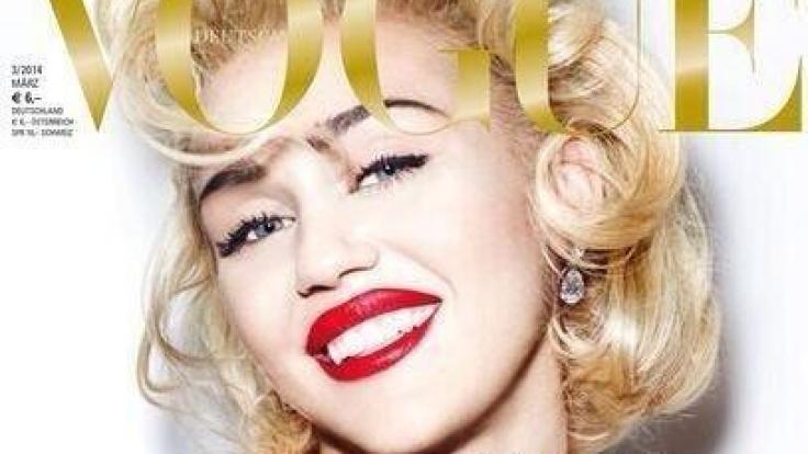 Miley Cyrus macht uns die Marilyn.