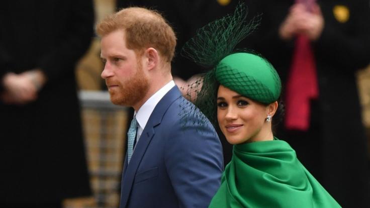 Prinz Harry und Meghan Markle nutzen Remembrance Day für PR.