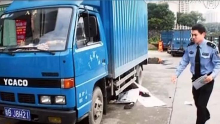 Unfälle wie dieser sind leider keine Seltenheit in China. (Foto)