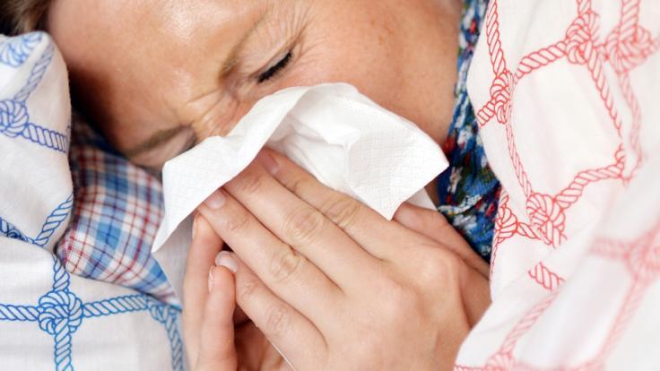 Einige Fehler verschlimmern Erkältungssymptome. (Symbolfoto)