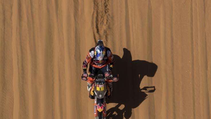 Rallye Dakar-Fahrer Pierre Cherpin ist nach einem schweren Sturz gestorben. (Symbolfoto) (Foto)