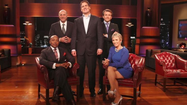 "Die Investoren von ""Shark Tank"" (v.l.):Daymond John,Kevin O'Leary,Mark Cuban,Robert Herjavec,Barbara Corcoran. (Foto)"