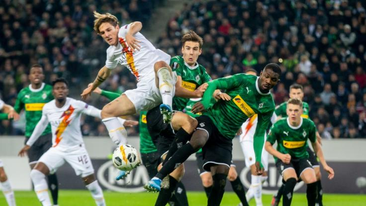 Gladbach machte die Partie gegen Rom in der Europa League spannend. (Foto)