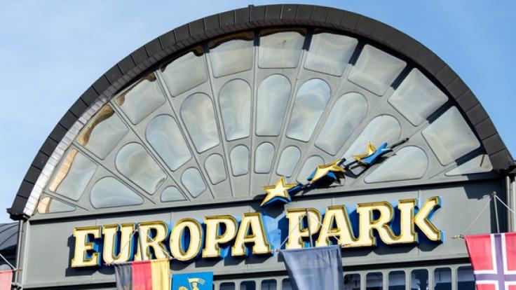 Im Europapark Rust ist ein Großfeuer ausgebrochen (Symbolbild).