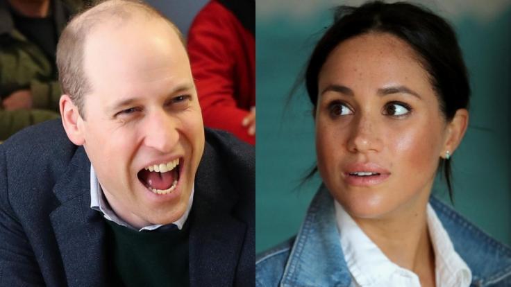 Prinz William und dessen Schwägerin Meghan Markle fanden sich auch in dieser Woche in den Royals-News wieder. (Foto)