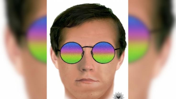 Die Polizei Teltow-Fläming in Brandenburg sucht mit diesem Phantombild nach einem mutmaßlichen Sextäter. (Foto)