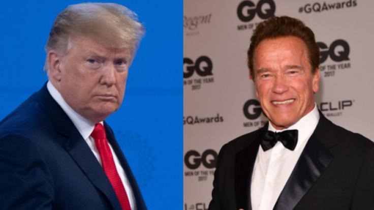"""Donald Trump hat """"Terminator""""-Darsteller Arnold Schwarzenegger für tot erklärt. (Foto)"""