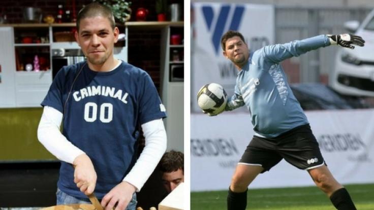 Tim Mälzer im Jahr 2005 (links) und drei Jahre später 2008 (rechts). (Foto)