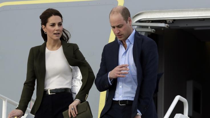 Kate Middleton und Prinz William befinden sich derzeit auf Pakistan-Reise. (Foto)