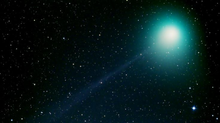 Der KometC/2019 YA4 ATLAS soll im April und Mai am Himmel leuchten.